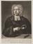 Engraving: Portrait of John Theophilus Desaguliers (1683-1744), natural philosopher.