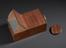 Early form of standard box-type camera Obscura, Focussing screen modern replacement, unknown maker, British, 1795-1805