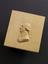 """Reproduction in boxwood, marked on back """"Dr. Black 1808 Scr."""" 2 1/2"""" x 2 1/4"""". Top three quarter view. Dark grey"""