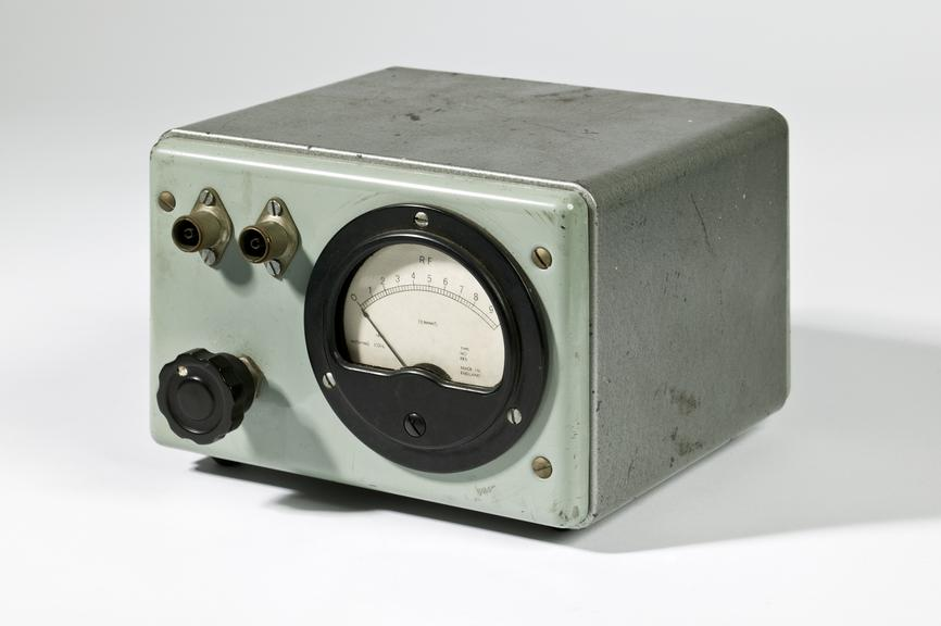 Ferranti Ltd electric meter, c. 1955Photographed on a white background.