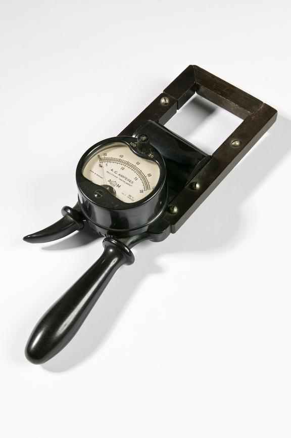 Ferranti Ltd electric meter.Photographed on a white background.