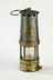 Naylor miner's safety Marsaut lamp, c. 1920Photographed straight on view on a white background.