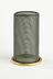 Gauze for W E Teale & Co. Ltd oil safety lamp, c. 1910,Photographed straight on view on a white background.