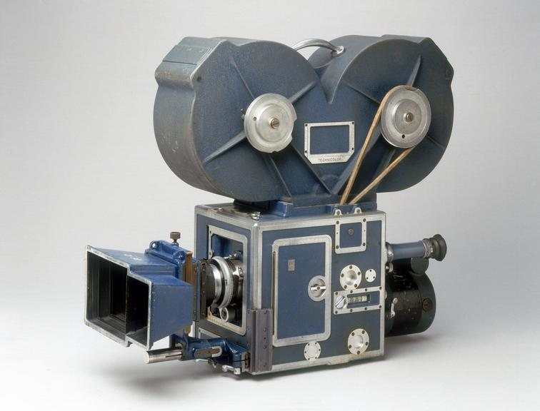 Technicolor camera by Technicolor Ltd. From a colour transparency in the Science Museum Photographic Archive.