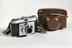 Kodak Retinette camera with case, c.1955Photographed on a white background.