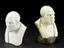 """Group shot of 1926-1075/336, 1 Reproduction in marble, man No. 335, 7"""" high and 1926-1075/335, 1 Plaster bust on"""