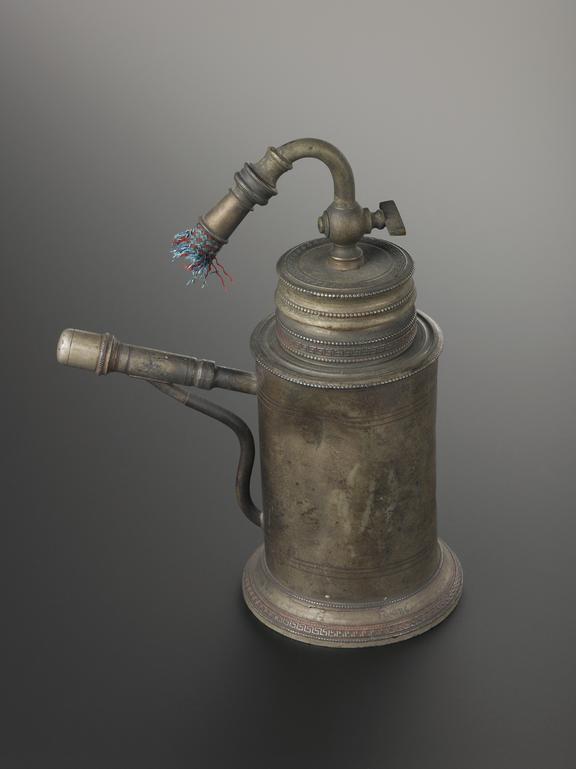 Pewter inhaler, 19th century. SCM - Therapeutics