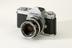 Nikkormat 35mm single lens reflex camera made by Nippon Kogaku K.K., Tokyo, c.1965Photographed 3/4 view on a white