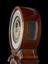 Barograph clock made by Alexander Cumming, London, England, 1766.  Consists of compensated pendulum regulator clock