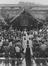Prisoners of War at a Confirmation Service held by the Bishop of Singapore, Leonard Wilson on Liberation       This is a