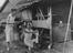 Two female prisoners of war lived in the Cowshed constructed of 4 pieces of Corrugated Iron        This is a fully retouched