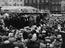 Opening of the 700 year old Mart Fair in Kings Lynn by the Major and Corporation, 1934       This is a fully retouched and