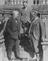 Lloyd George and King George V at Moy Hall in 1921.       This is a fully retouched and clean, publication quality copy of an