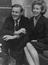 Tony Benn (Anthony Wedgewood Benn) MP with his wife at home        This is a fully retouched and clean, publication quality