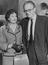 Michael Foot, Labour MP and his wife Gill Craigie, 1963       This is a fully retouched and clean, publication quality copy