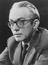 Studio portrait of Michael Foot, Labour MP for Ebbw Vale, Wales       This is a fully retouched and clean, publication
