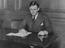 Hon Quentin Hogg, later Lord Hailsham at his desk, 1934       This is a fully retouched and clean, publication quality copy