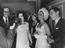 """Elizabeth Taylor at the Dominion Cinema in London to see """"Cleopatra"""" in which she stars. 43 members of the Bolshoi"""