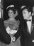 """Elizabeth Taylor and Mike Todd at the Premiere of """"Around The World in 80 Days"""", 1957.       This is a fully retouched and"""