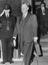 Lord Hailsham leaving Admiralty House,  after a cabinet meeting, 1963.       This is a fully retouched and clean,