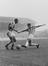 Stanley Matthews returns to Stoke, 1961, shown here eluding a Dinsdale tackle, Dinsdale is the Huddersfield left
