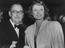 """Herbert Wilcox and his wife Anna Neagle arriving at the first night of """"Castles in the Air"""" at the Adelphi, 1949.       This"""