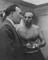 Stanley Matthews talks to Stoke City manager Tony Waddington in the dressing room upon his return to Stoke City,