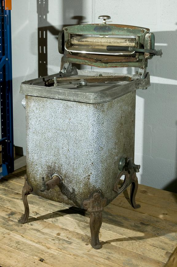 Gas/manual washing machine.Photographed in Collections Store 3.