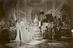 """Bedchamber scene in """"The Queen"""" later known as """"Victoria The Great"""" being directed by Herbert Wilcox at the British"""