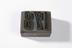 Textile printing block made by John Wild, Bolton.Photographed on a white background.