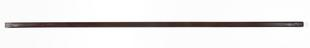 Security struts for Castlereigh Cabinet: right-hand security strut for the 36-drawer wooden cabinet, with drawers