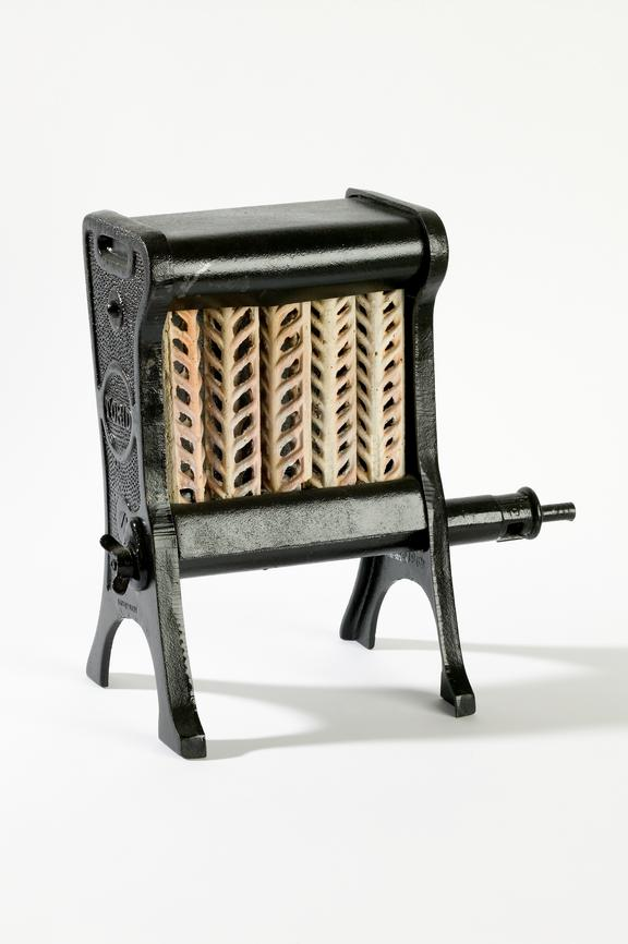 'Torid' gas fire.Photographed on a white background.