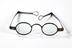 Iron-framed spectacles, c.1800Photographed on a white background.