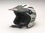 BMX Cycle helmet , part of uniform of the London's Ambulance Cycle Response Unit, owned by Tom Lynch, c.2000