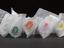 5x airway tubes of varying sizes, each colour coded, part of medical equipment and tools supplied to members of the