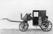 Original brougham carriage, 1838. This vehicle is a prototype of the brougham, which was a comparatively low, light and