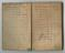Small Notebook of officer James Gates, Midland Railway Police. Pgs. 1 & 2