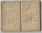 Small Notebook of officer James Gates, Midland Railway Police. Pgs. 43 & 44