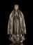 Painted wooden figture of the Virgin Mary as our Lady Immaculate, regatded as general patron of the sick, Spanish,