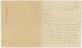 Brunel Letter. February 13th 1834. Front.