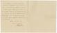 Brunel Letter. February 13th 1834. Back.