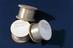 Three spools of polyethylene terephthalate filaments produced at the Chemical Research Laboratory, Teddington (D.S.I.R)