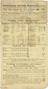 One of Five handbills. Worthing Motor Services Ltd. Timetable 1909. Obverse