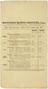 One of Five handbills. Worthing Motor Services Ltd. Timetable 1909. Reverse