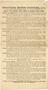 One of Five handbills. Worthing Motor Services Ltd. Timetable 1910. Reverse
