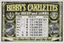 May: Page from Bibby's Calendar 1908. Booklet with chromolithographs including product advertisements for the