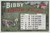 April: Page from Bibby's Calendar 1908. Booklet with chromolithographs including product advertisements for the