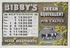 September: Page from Bibby's Calendar 1908. Booklet with chromolithographs including product advertisements for the