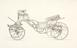 One of Series of fourteen designs for carriages by Hooper and Co. London. [1850-1900]. Pen and black ink, a few with