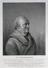Engraving: stipple: Portrait of Dr William Herschel (1738-1822), astronomer, Engraving by James Godby of a drawing made